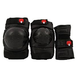 SkateHut Basic Combo Pad Set - Black