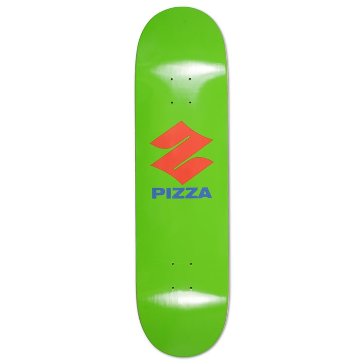 "Pizza Pizuki Skateboard Deck 8.5"" - Green"