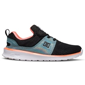 DC Heathrow SE Girls Skate Shoes - Black/Multi