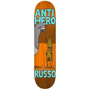 Anti Hero Roaches Skateboard Deck - Russo 8.38