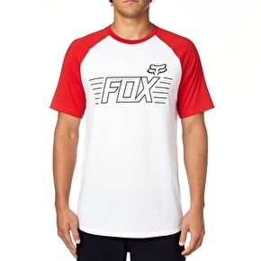Fox Conjurer Raglan T-Shirt - Optic White