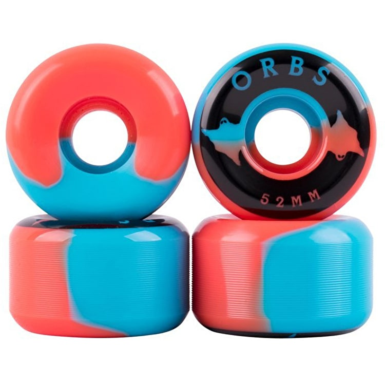 Welcome Orbs Specters Skateboard Wheels 52mm - Blue/Coral