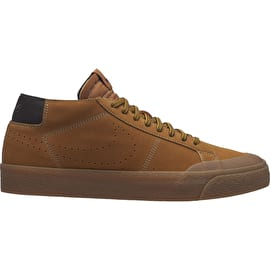 Nike SB Zoom Blazer Chukka XT Premium Skate Shoes - Bronze/Bronze Baroque/Brown