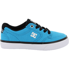 DC Nyjah Vulc TX Kids' Shoes - Turquoise/Black