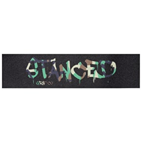Stanced Logo Scooter Grip Tape - Camo 22