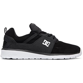DC Heathrow SE Skate Shoes - Black/Battleship/White