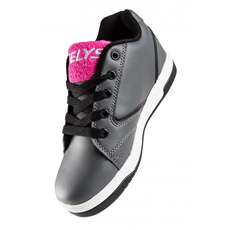 Heelys Propel Terry - Charcoal/Pink Terry Logo