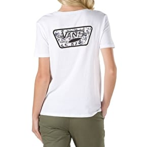 Vans Ditsy Blooms Full Patch T-Shirt - White