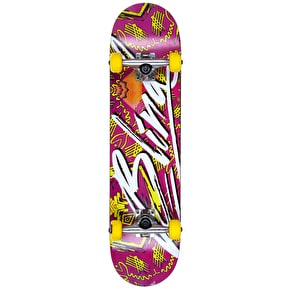 Blind Complete Skateboard - Flight Tribe Mauve 7.625