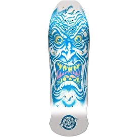 Santa Cruz Roskopp Face Reissue Skateboard Deck - Matte Finish/White Dip 9.5