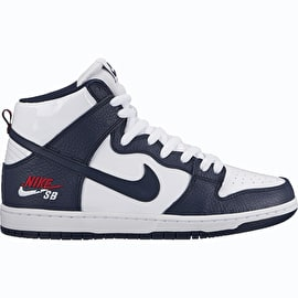 Nike SB Zoom Dunk High Pro Skate Shoes - Obsidian Blue