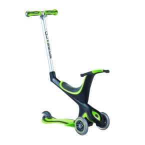 Globber 5-In-1 Scooter - Green