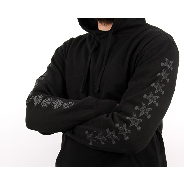 Independent x Thrasher Pentagram Cross Hoodie - Black