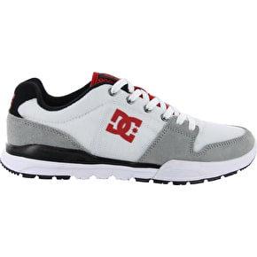 DC Alias Lite Shoes - White/Grey/Red