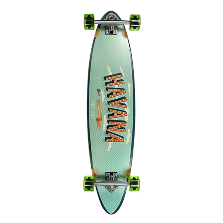 Havana Flight Pintail Complete Longboard 39""