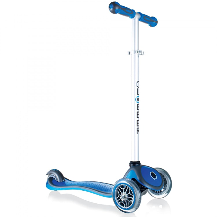 Globber My Free Up Primo Plus Complete Scooter - Navy Blue