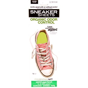 Sneaker Sheets Women's Odour Control Insoles - Yellow UK 4-7