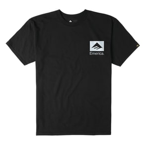 Emerica Brand Combo T-Shirt - Black