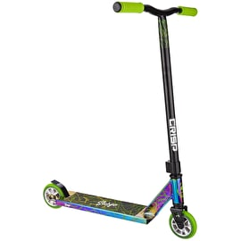 Crisp Surge Stunt Scooter - Neochrome/ Black Green