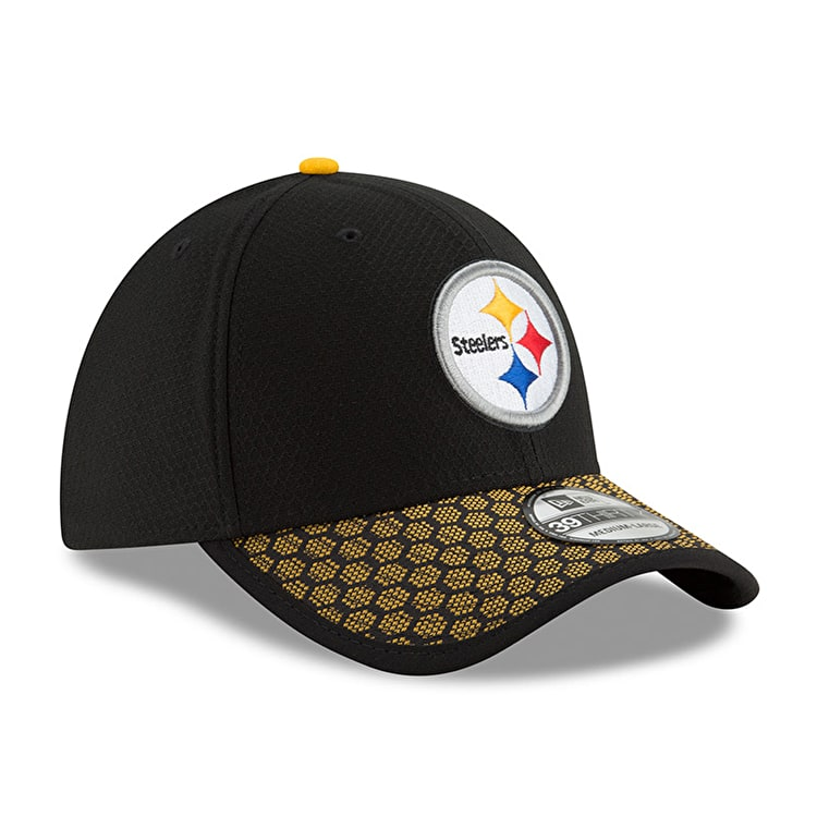 New Era Pittsburgh Steelers NFL 2017 Sideline 39THIRTY - Black