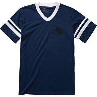 Emerica Toy Stripe T-Shirt - Blue