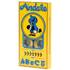 Andale Skateboard Bearings - ABEC 5