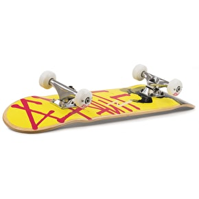 Enuff Tag Graffiti Mini Complete Skateboard - Yellow