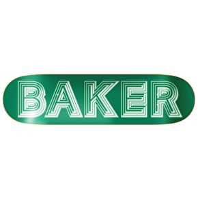 Baker Ace Skateboard Deck - Green 8.5