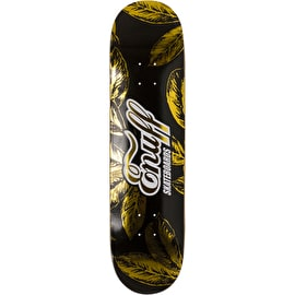 Enuff Gold Leaf Skateboard Deck - Black/Gold 8