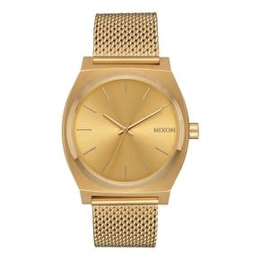 Nixon Time Teller Milanese Womens Watch - All Gold