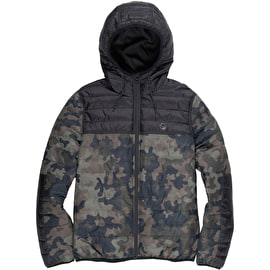 Element Alder Puff Jacket - Bark Camo