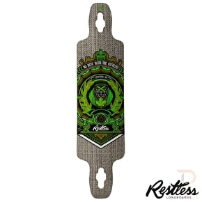 Restless Longboard Deck - Splinter Series Crest 40