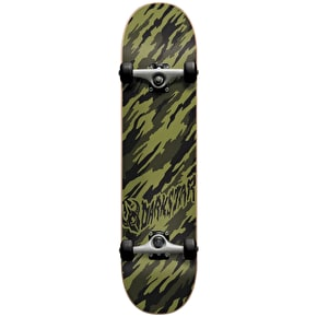 B-Stock Darkstar Complete Skateboard Camo - Army Green 8