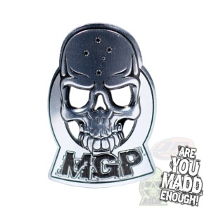 Mgp Alloy Headtube Decal - Silver