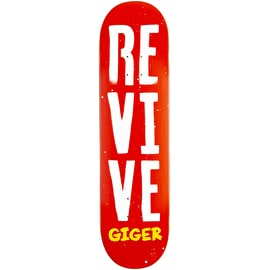 ReVive Giger Stencil Skateboard Deck