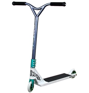 District Custom Scooter - Black/White/Turquoise
