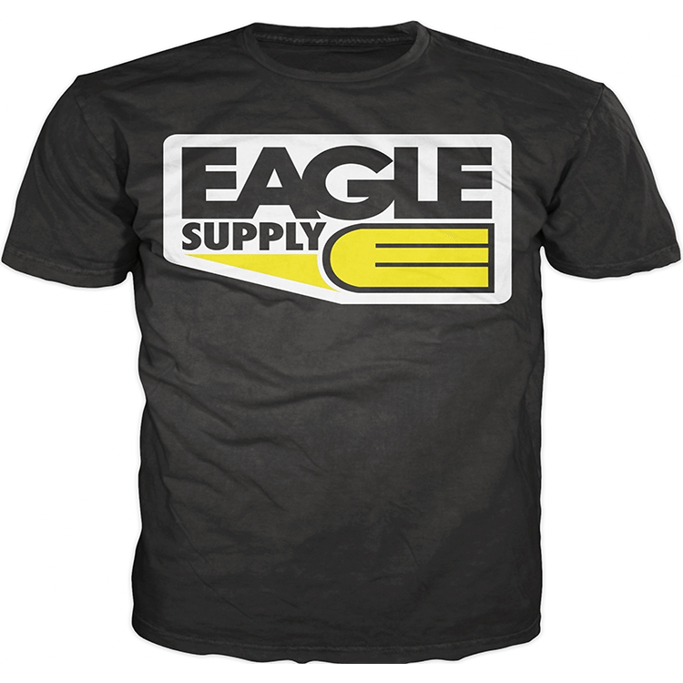 Eagle Supply Logo T-Shirt - Black