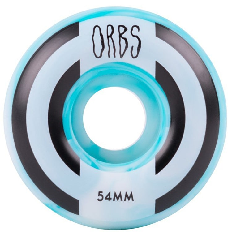 Welcome Orbs Apparitions Skateboard Wheels 54mm - Blue/White