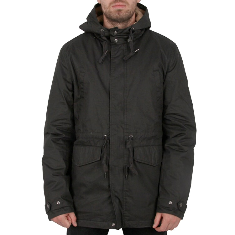 Element Roghan Parka Jacket - Flint Black