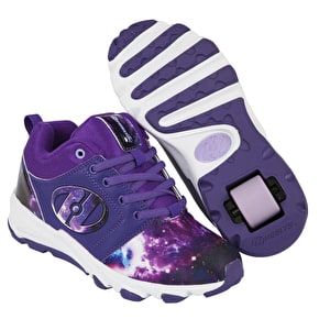Heelys Hightail - Purple/Galaxy