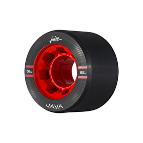 Juice Java Series Quad Roller Skate Wheels 59mm 92a - Black (Pack of 4)