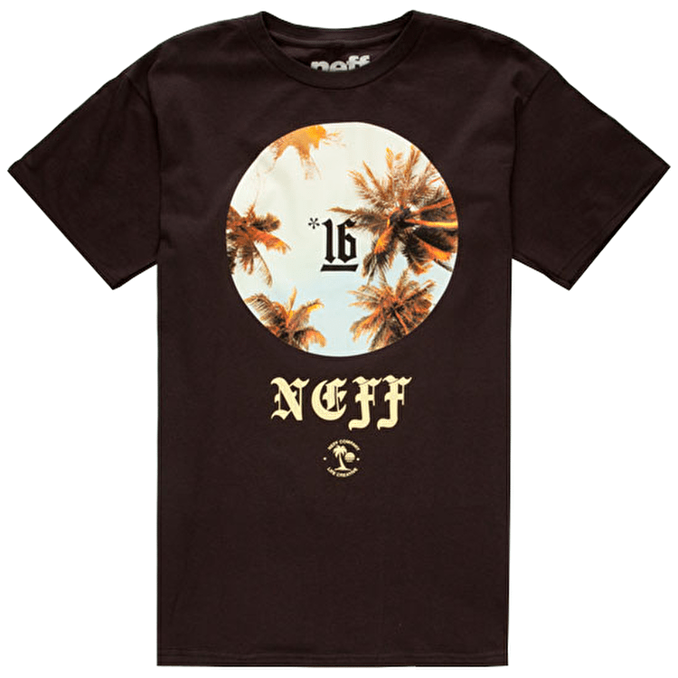Neff Heads Up T-Shirt - Black