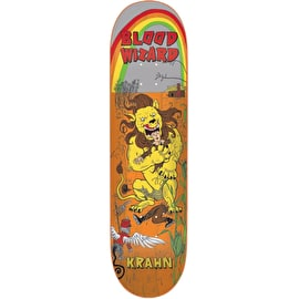 Blood Wizard Lion Krahn Skateboard Deck 8.125