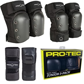 B-Stock Pro-Tec Street Youth complete Padset - Medium (Box Damaged)