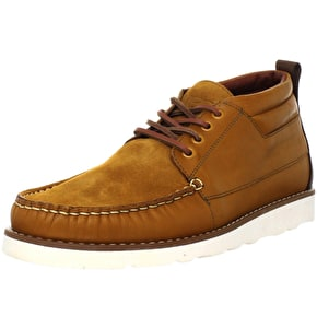 WeSC Gilliam Designer Boots - Cognac UK Size 8.5 (B-Stock)