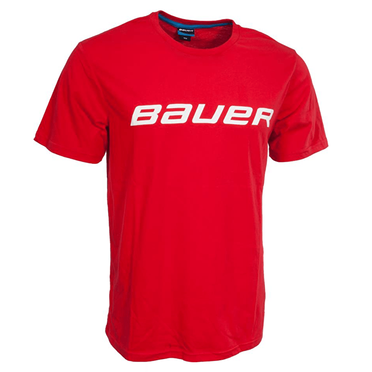 Bauer Core T Shirt - Red