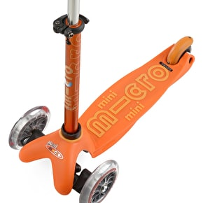 Mini Micro Deluxe Complete Scooter - Orange