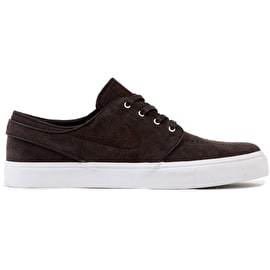 Nike SB Zoom Stefan Janoski Skate Shoes - Velvet Brown/Light Cream-White