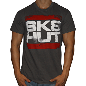 Skatehut Run Sk8hut Kids T-Shirt - Charcoal
