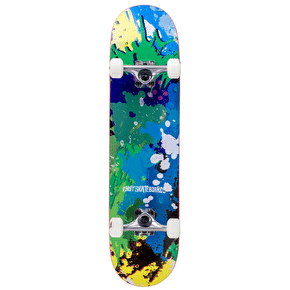Enuff Splat Complete Skateboard - Green/Blue